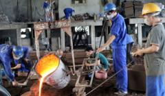 Xử lý khí thải lò đúc kim loại