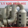 Các phương pháp xử lý khí SO2